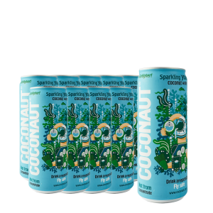 Young Coconut - Water Sparkling 12 buc. x 0.32L - doza
