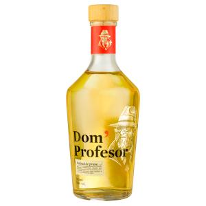 Dom' Profesor Gold - Palinca prune - 0.7L, Alc: 50%