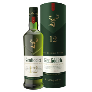 Glenfiddich - Scotch single malt whisky 12 yo - 0,7L