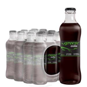 Bautura racoritoare carbogazoasa Green Cola 12 buc. x 0.25L - sticla
