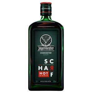 Jagermeister - herbal lichior Scharf - 0.7L, Alc: 33%