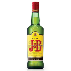 J & B Rare - Scotch Blended Whisky - 0.5L, Alc: 40%