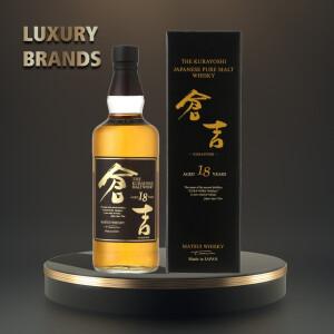 The Kurayoshi - Japanese Pure Malt Whisky 18 yo GB - 0.7L, Alc: 50%