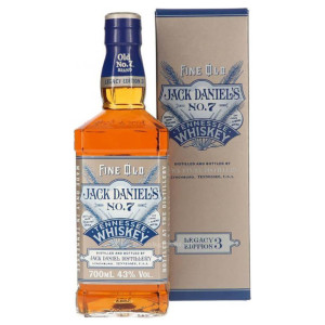 Jack Daniel's - Tennessee Whiskey Legacy Edition 3 GB - 0.7L, Alc: 43%