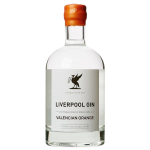 Liverpool - Gin, Valencian orange - 0.7L, Alc: 43%