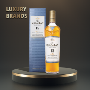 Macallan - Triple Cask Scotch single malt whisky 15 yo - 0.7L, Alc: 43%