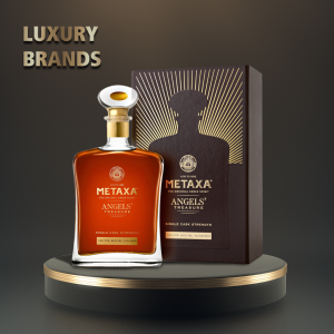 Metaxa - Brandy Angels` Treasure Gift Box - 0.7L, Alc 42.2%
