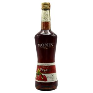 Monin - Lichior Fraise - 0.7L, Alc: 18%