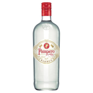 Pampero - Rom blanco - 1L, Alc: 37.5%