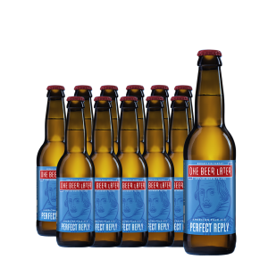 One Beer Later - Bere artizanala Perfect Reply 12 buc. x 0.33L, Alc: 5%