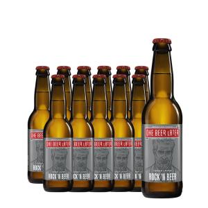 One Beer Later - Bere artizanala Rock'N Beer 12 buc. x 0.33L, Alc: 5%