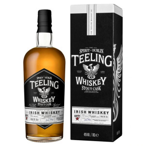 Teeling - Irish whiskey Stout Cask gb - 0.7L, Alc: 46%