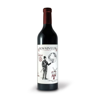 Licorna - Bon Viveur rosu 2015 -  0.75L, Alc: 14.3%