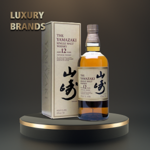 Yamazaki - Japanese single malt whisky 12yo - 0.7L, Alc: 43%