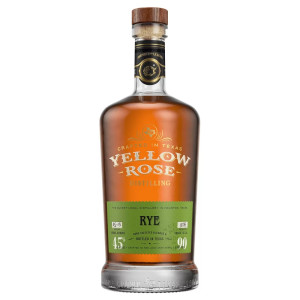Yellow Rose - American Rye Whiskey - 0.7L, Alc: 45%