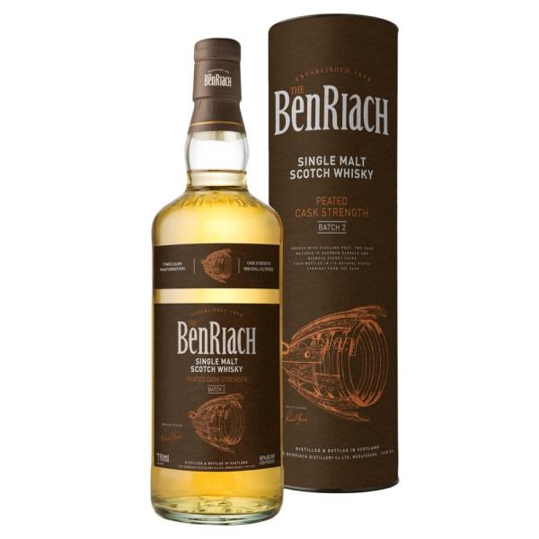 The BenRiach - Batch 2 Cask Strenght Scotch single malt whisky 0.7L