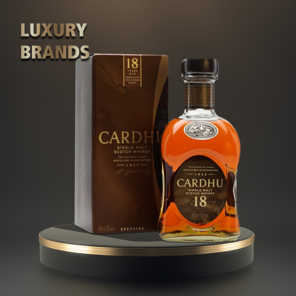 Cardhu - Scotch single malt whisky 18 yo gb  - 0.7L, Alc: 40%