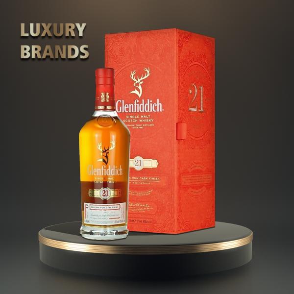 Glenfiddich - Scotch single malt whisky 21 yo - 0.7L, Alc: 40%