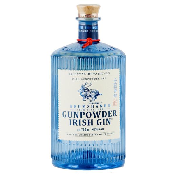 Gunpowder - Irish Gin - 0.7L, Alc: 43%