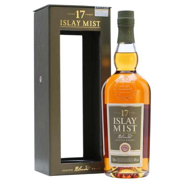 Islay Mist - Scotch blended whisky 17 yo gb - 0.7L, Alc: 40%