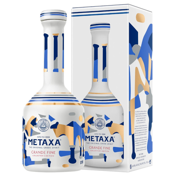 Metaxa - Brandy Grande Fine Cacao Rocks, GB - 0.7L, Alc: 40%