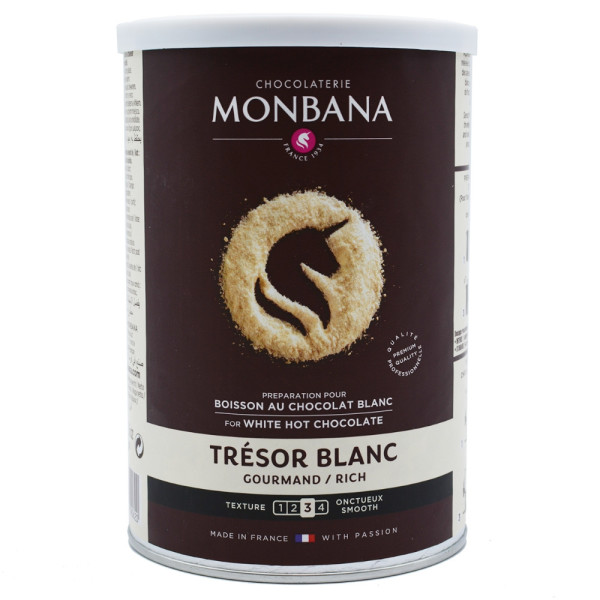 Monbana Pudra - ciocolata alba 500 g