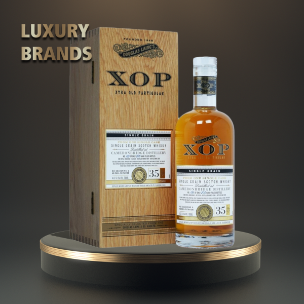 Cameronbridge XOP - Single Grain Scotch whisky 35 yo - 0.7L, Alc: 51.5%