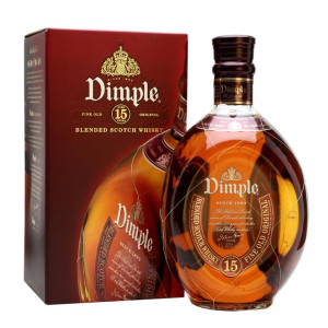Dimple - Scotch blended whisky 15yo - 0,7L, Alc: 40%