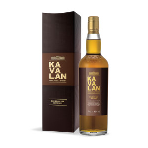 Kavalan - Ex Bourbon Oak - Taiwan single malt whisky - 0.7L, Alc: 46%