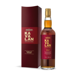 Kavalan - Ex Sherry Oak - Taiwan single malt whisky - 0.7L , Alc: 46%