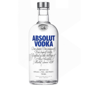 Absolut - Blue vodka - 0.7L, Alc: 40%