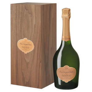 Laurent Perrier - Sampanie Alexandra rose wooden box - 0.75L, Alc: 12%