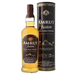 Amrut Fusion - Indian single malt whisky GB - 0.7L, Alc: 50%