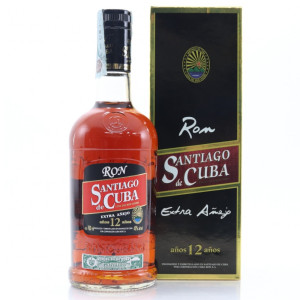 Santiago de Cuba - Rom Anejo 12yo - 0,7L