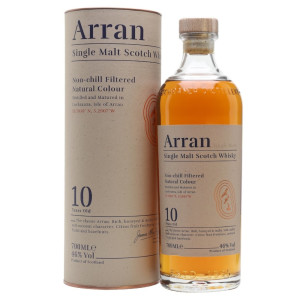 Arran - Scotch single malt whisky 10 yo gb - 0.7L, Alc: 46%