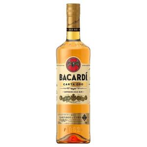Bacardi - Rom Carta Oro - 0.7L, Alc: 37.5%