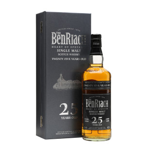 The BenRiach - Flagship Deluxe Scotch single malt whisky 25yo - 0.7L, Alc: 46.8%