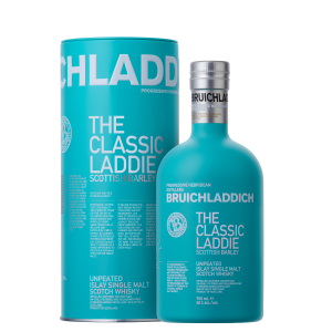 Bruichladdich - Classic Laddie Scotch Single Malt tin box - 0.7L, Alc: 50%