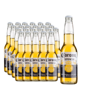 Corona extra - Bere Pale Lager Mexic 24 buc x 0.35L, Alc: 4.5%