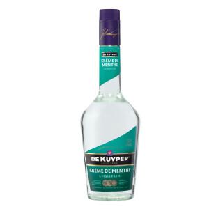 De Kuyper - Lichior Creme de menthe white - 0.7L, Alc: 24%