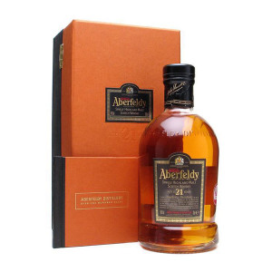 Aberfeldy - Scotch single malt whisky 21 yo - 0.7L, Alc: 40%