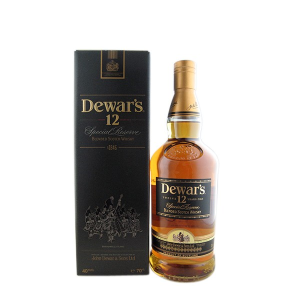 Dewar's - Scotch blended whisky special reserve gift box12 yo  - 0.7L