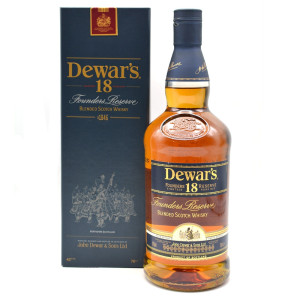 Dewar`s - Founder Reserve scotch blended whisky 18 yo gift box - 0.7L, Alc: 43%