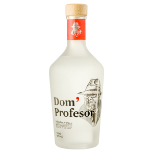 Dom' Profesor Silver - Palinca prune - 0.7L, Alc: 40%