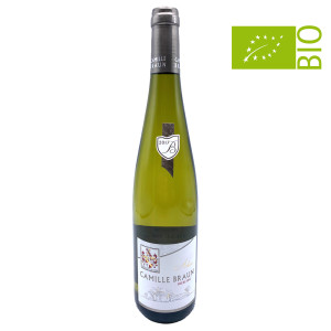 Domaine Camille Braun - Riesling Tradition AOP BIO - 0.75L, Alc: 12.54%