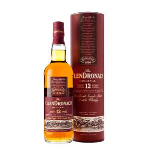 The Glendronach - Original Scotch single malt whisky 12yo - 0.7L, Alc: 43%