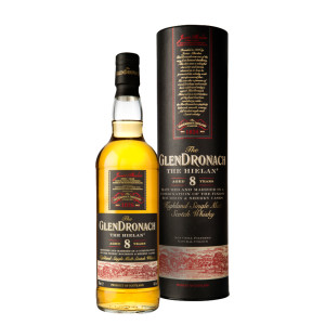The Glendronach -The Hielan Scotch single malt whisky 8yo - 0,7L, Alc: 46%