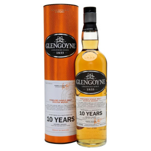 Glengoyne - Scotch single malt whisky 10 yo gb - 0.7L, Alc: 40%