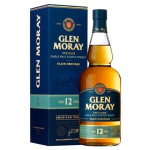 Glen Moray - Scotch Single Malt Whisky 12 yo GB - 0.7L, Alc: 40%