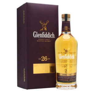 Glenfiddich - Scotch single malt whisky 26 yo - 0,7L, Alc: 43%